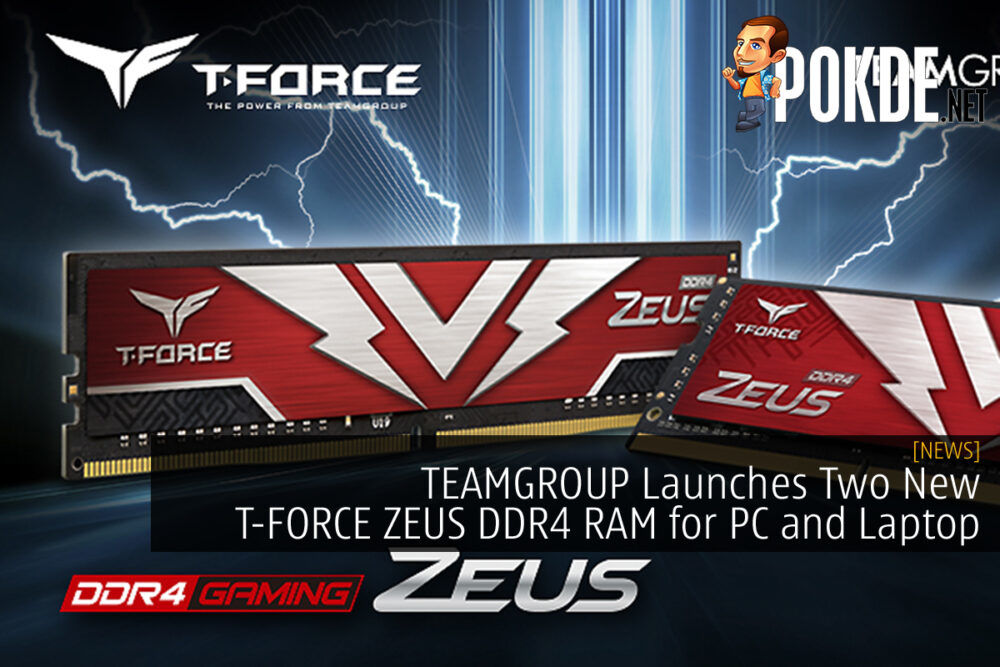 TEAMGROUP T-FORCE ZEUS DDR4 cover