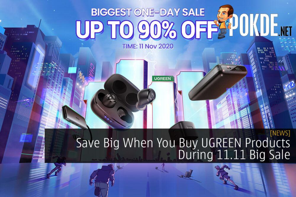 UGREEN 11.11 Big Sale cover
