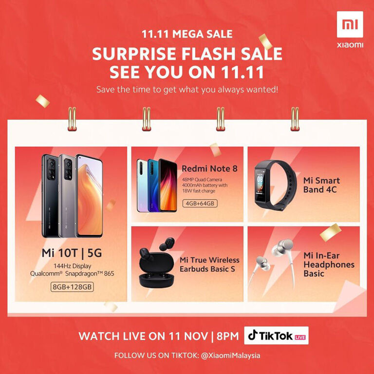 Xiaomi Malaysia Offers Great Deals For You To Grab This 11.11 24