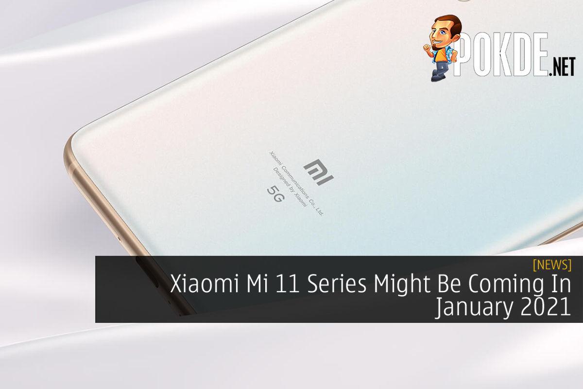 Xiaomi Mi 11 series rumoured launch cover final