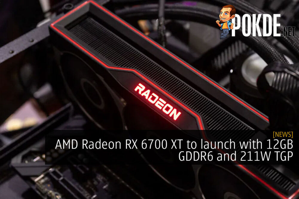 AMD Radeon RX 6700 XT to launch with 12GB GDDR6 and 211W TGP 21