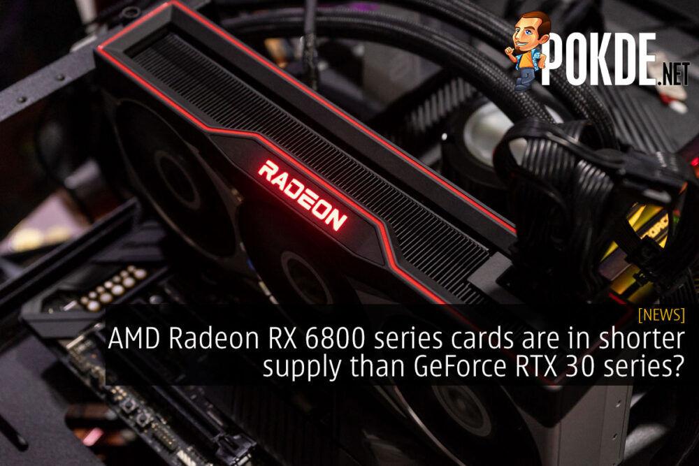 amd radeon rx 6800 series short supply cover