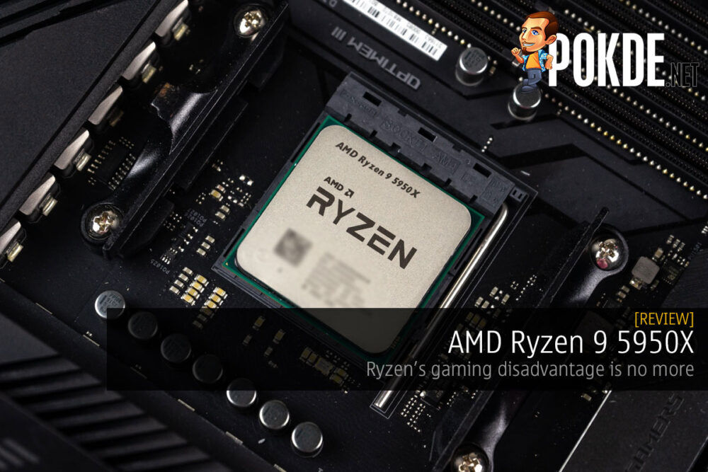 amd ryzen 9 5950x review cover