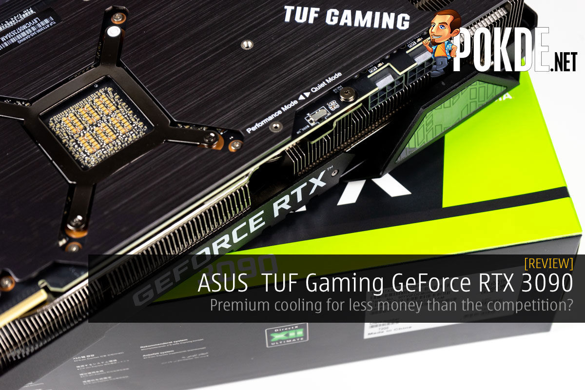 asus tuf gaming geforce rtx 3090 review cover