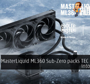 cooler master masterliquid ml360 sub-zero tec cover