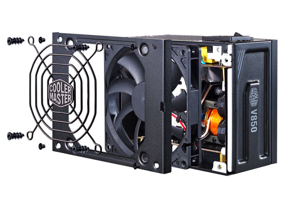 cooler master v gold sfx psu fan