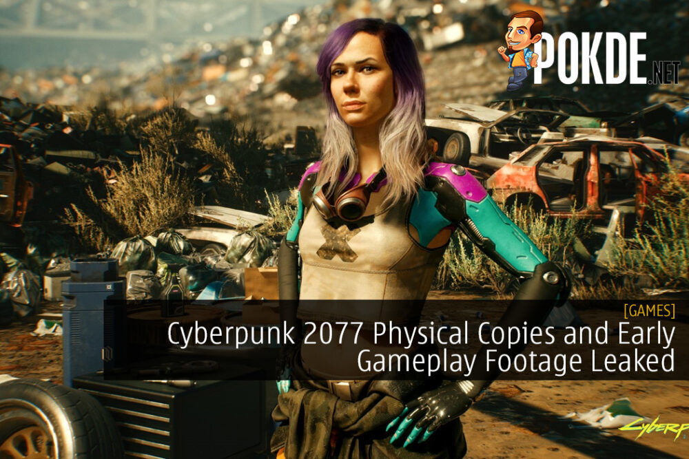 Cyberpunk 2077 Physical Copies and Early Gameplay Footage Leaked