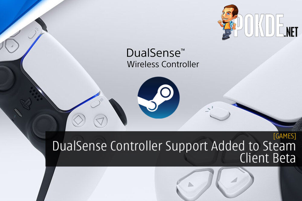 DualSense Controller Support Added to Steam Client Beta