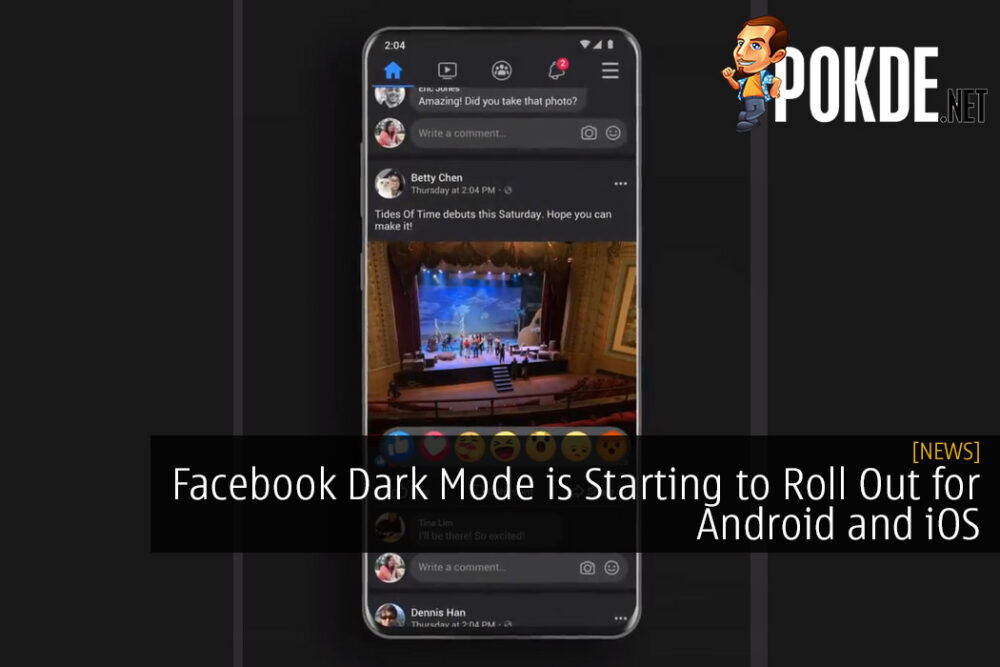Facebook Dark Mode is Starting to Roll Out for Android and iOS - Here's How to Enable It