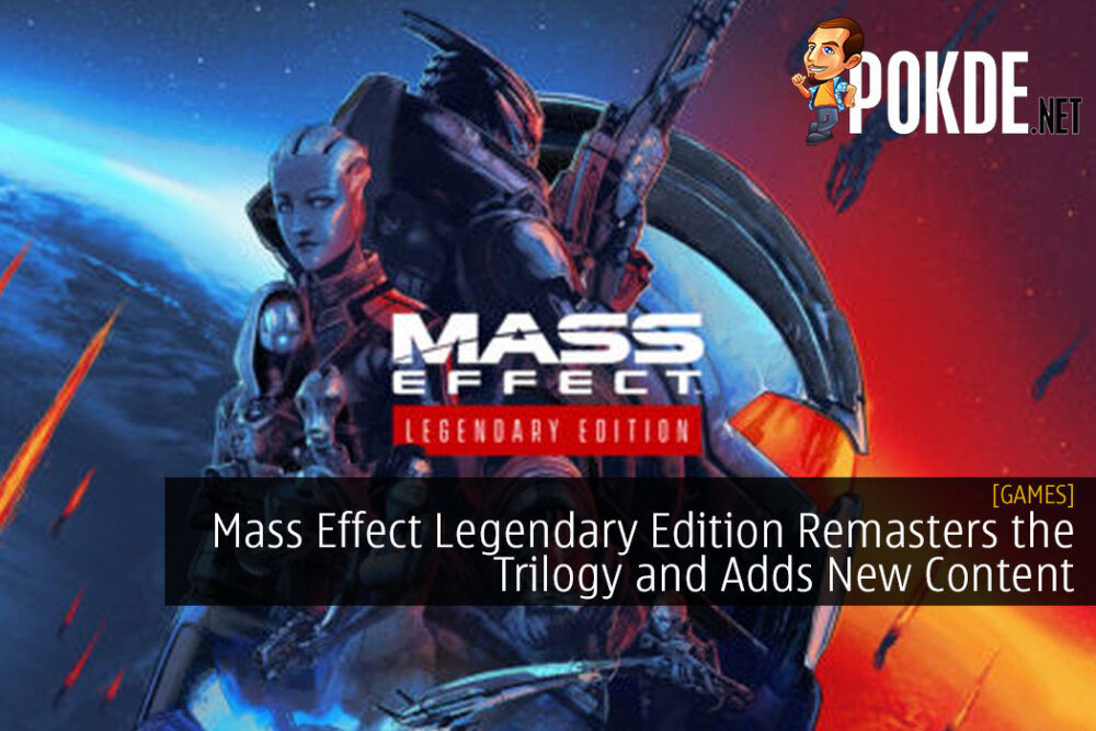 Mass Effect Legendary Edition Remasters the Trilogy and Adds New Content