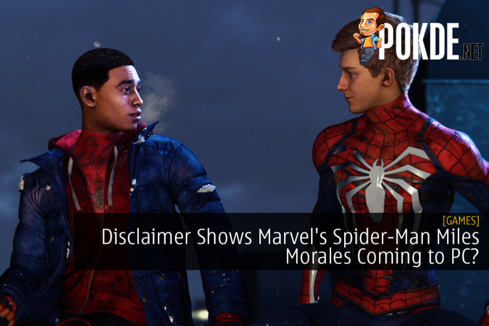 Disclaimer Shows Marvel's Spider-Man Miles Morales Coming to PC?