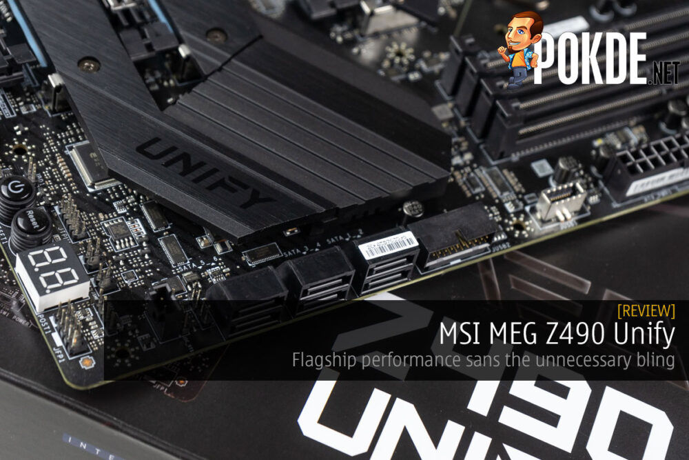 msi meg z490 unify review cover