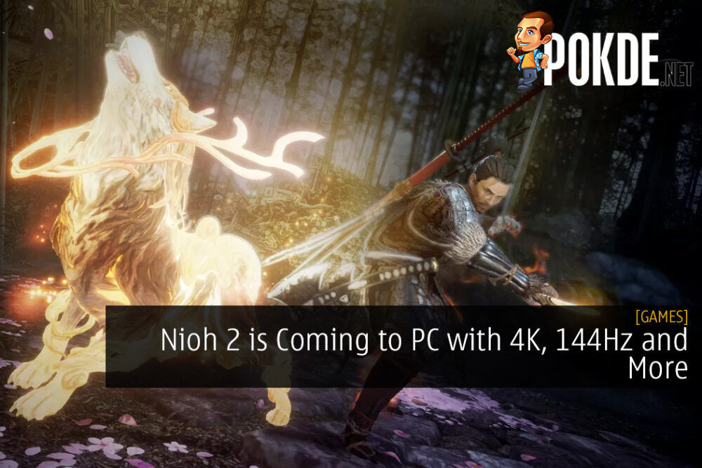 Nioh 2 is Coming to PC with 4K, 144Hz and More