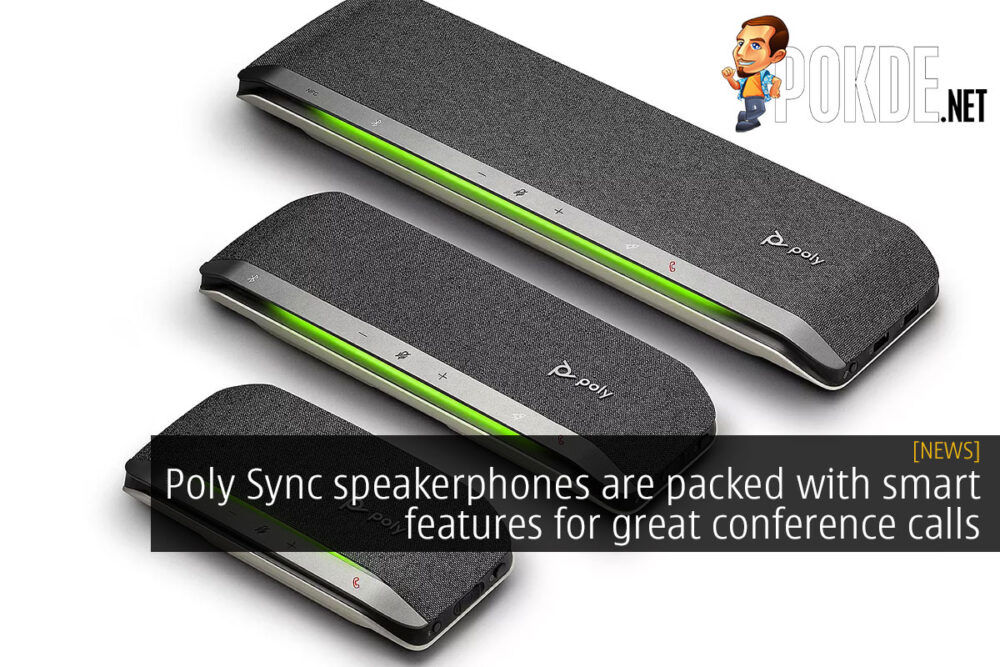 poly sync speakerphones cover