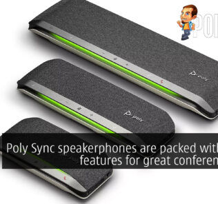 poly sync speakerphones cover