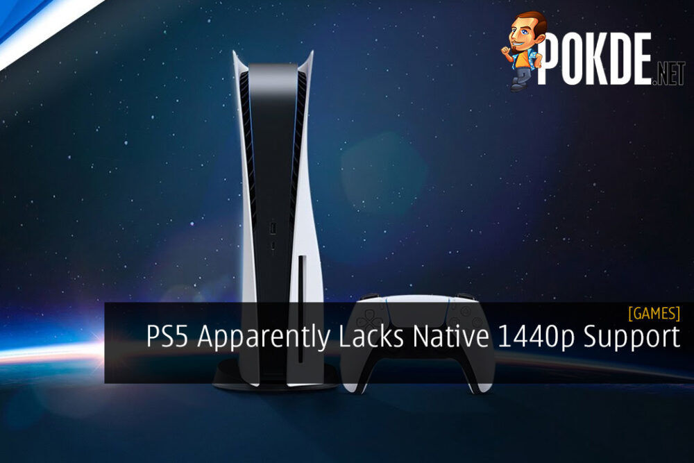 PS5 Apparently Lacks Native 1440p Support