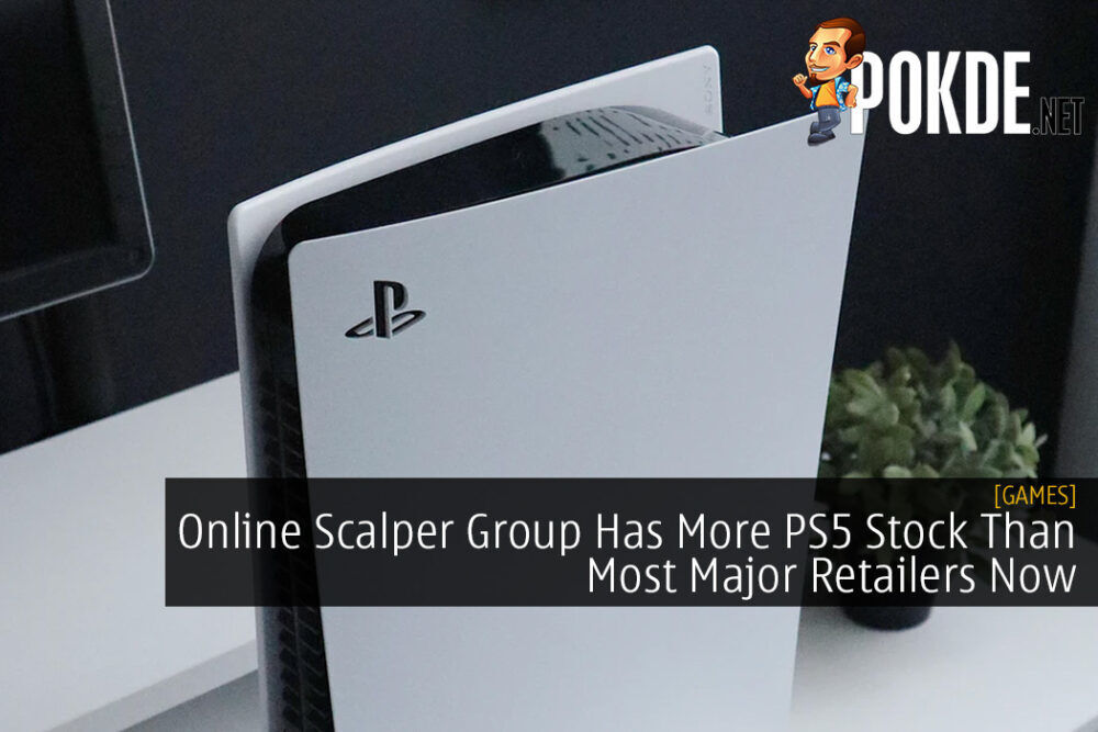 Online Scalper Group Has More PS5 Stock Than Most Major Retailers Now