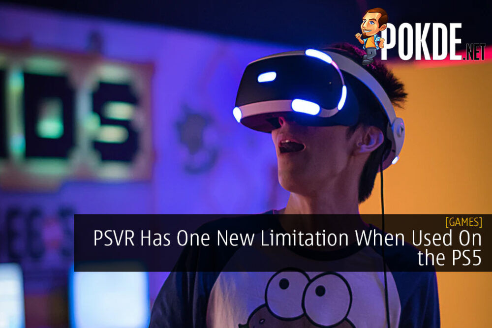 PSVR Has One New Limitation When Used On the PS5