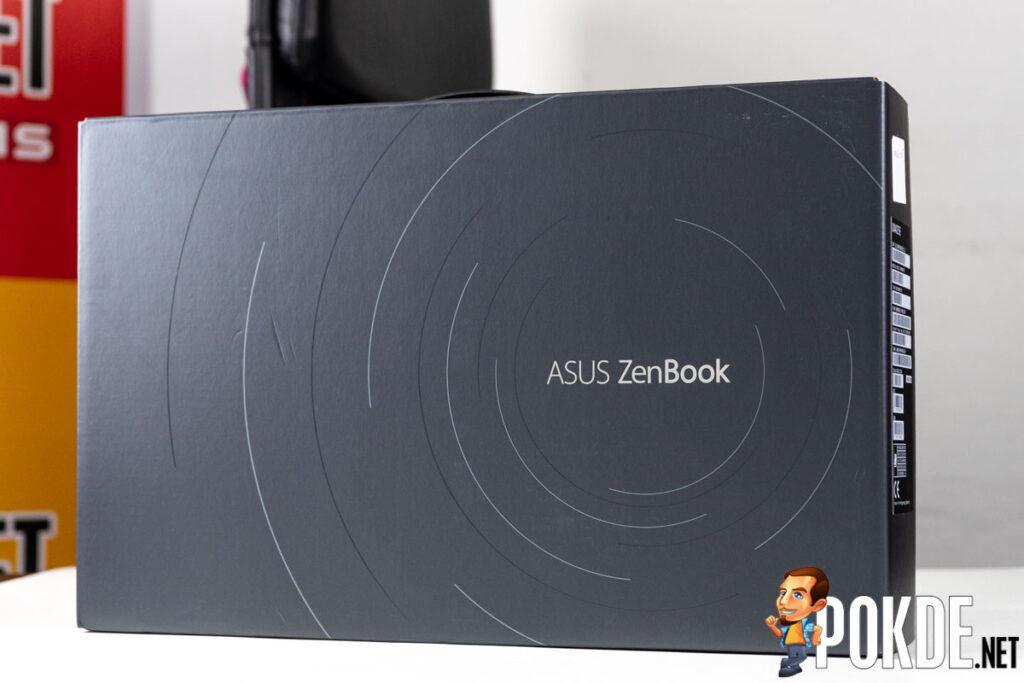 ASUS ZenBook 14 UX425E unboxing