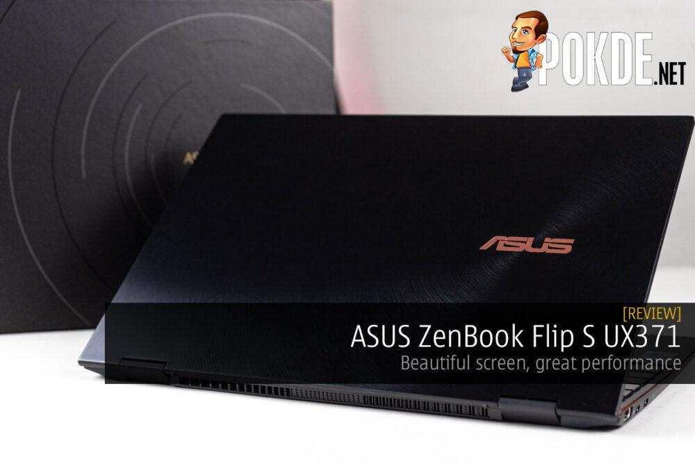 ASUS ZenBook Flip S UX371 Review — beautiful screen, great performance 19