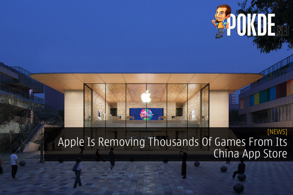 Apple Removing Apps China App Store cover