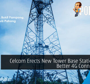 Celcom Erects New Tower Base Stations For Better 4G Connectivity 26