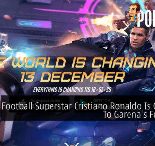 Cristiano Ronaldo Free Fire Chronos cover