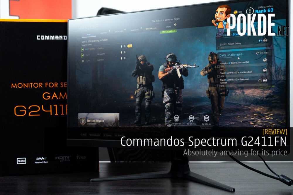 Commandos Spectrum G2411FN Review — absolutely amazing for its price 18
