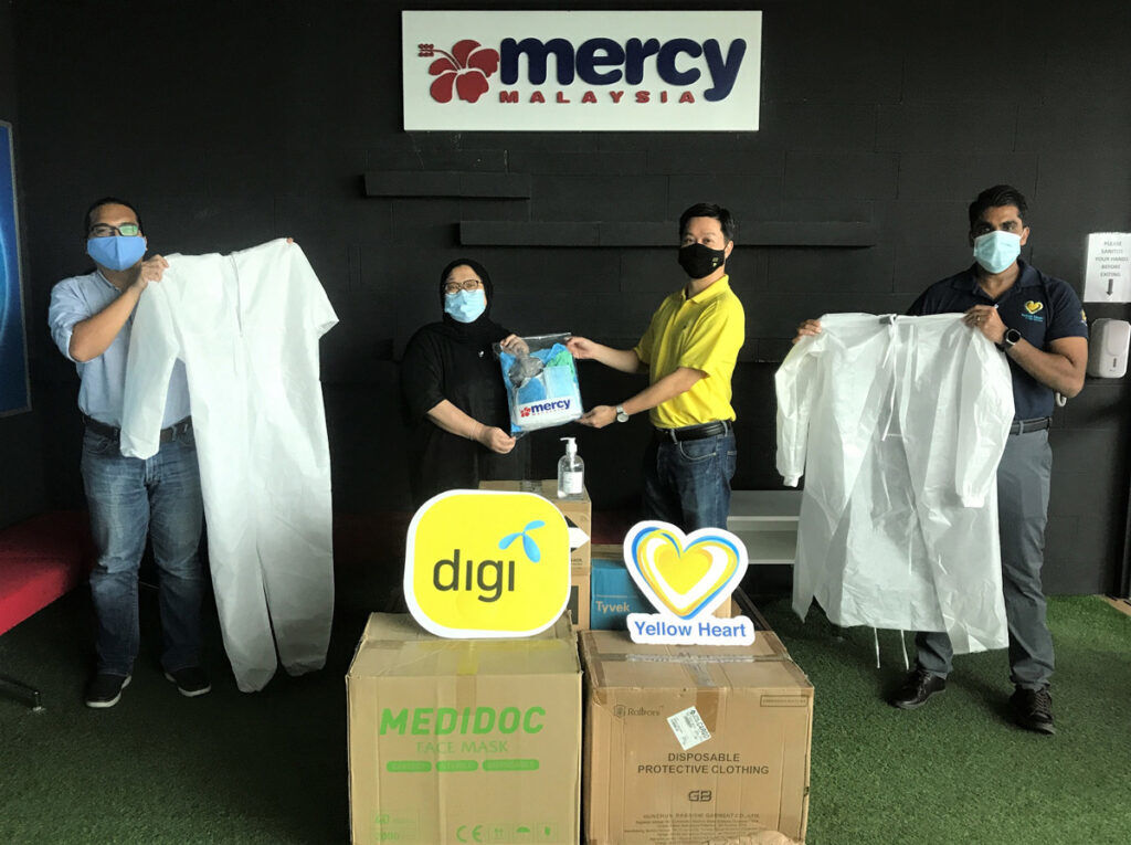 Digi Teams Up With MERCY Malaysia In Aiding Medical Frontliners 24