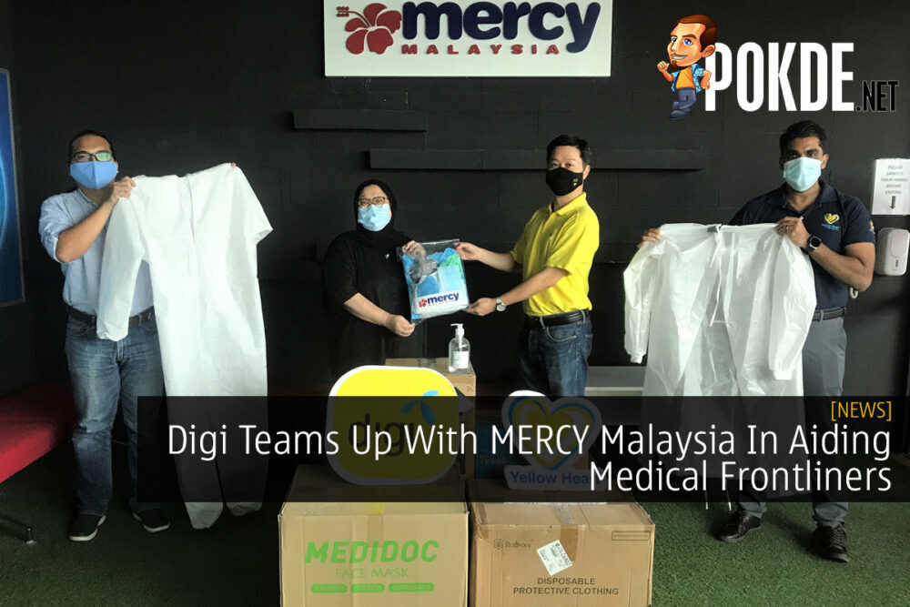 Digi Teams Up With MERCY Malaysia In Aiding Medical Frontliners 23