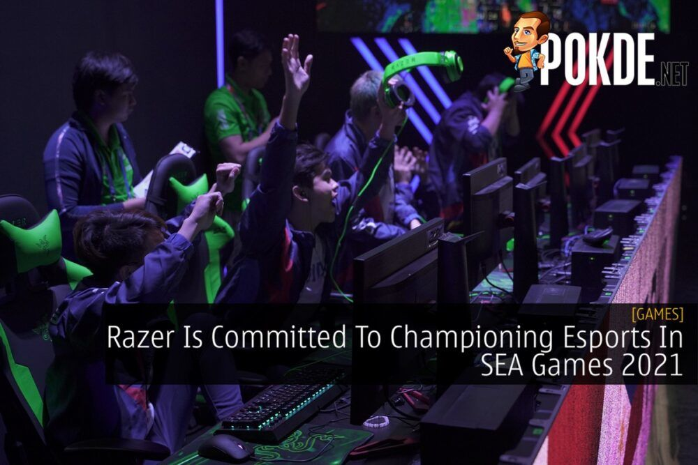 Esports Athletes at SEA Games 2019 Razer cover