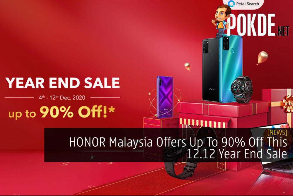 HONOR Malaysia Offers Up To 90% Off This 12.12 Year End Sale 18