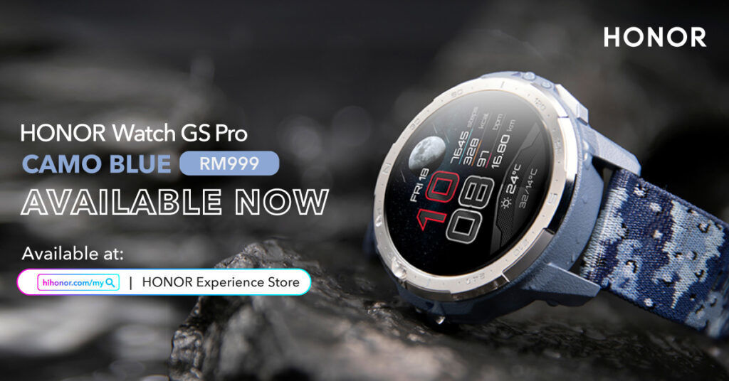 HONOR Watch GS Pro Camo Blue Now Available In Malaysia 20