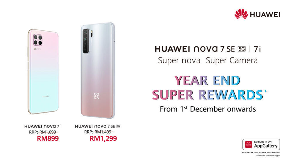 HUAWEI nova 7 Series Now On Promo Price From RM899 24