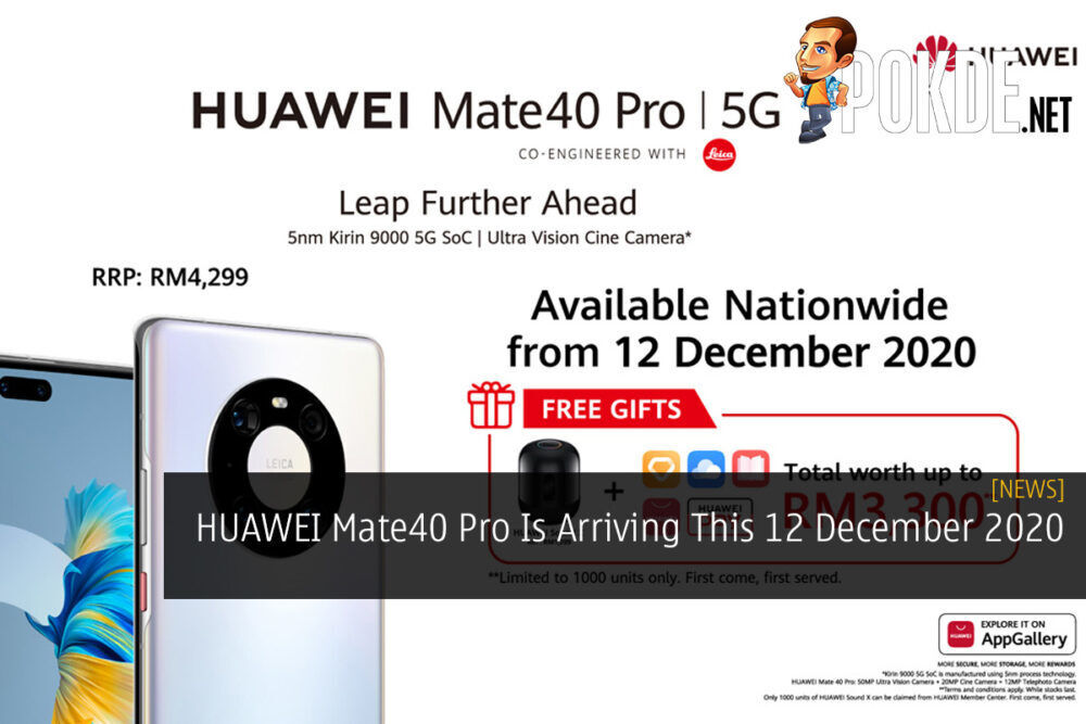 HUAWEI Mate40 Pro Is Arriving This 12 December 2020 23