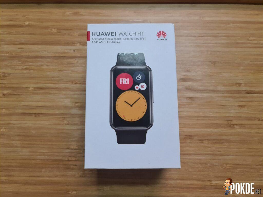 HUAWEI Watch Fit review - Box