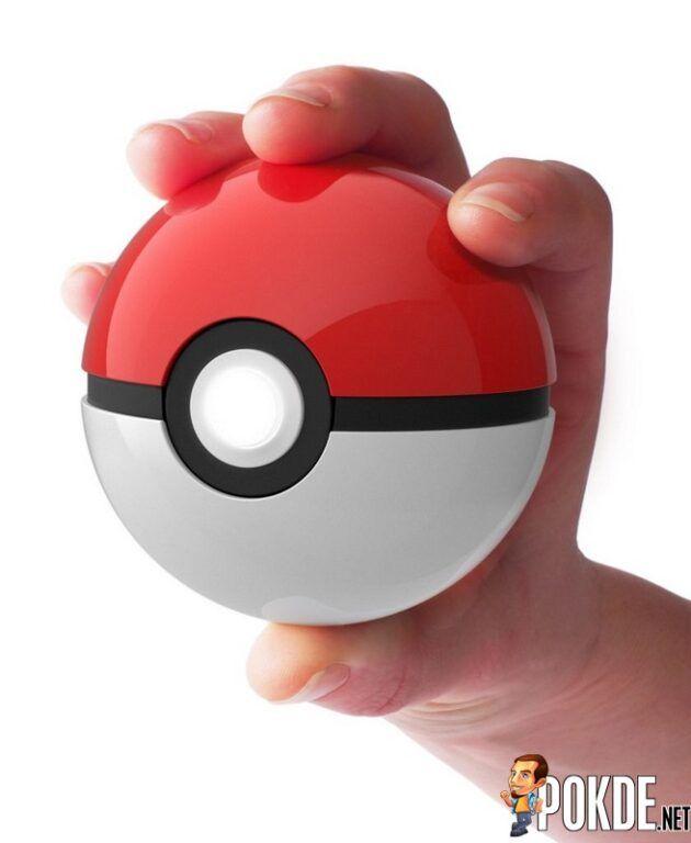 Holding the Poké Ball