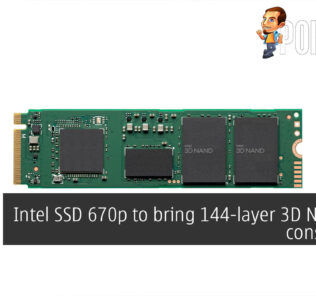 Intel SSD 670p 144 layer 3d nand ssd cover
