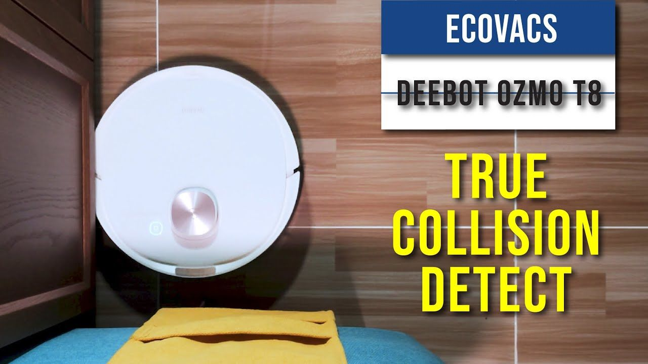 Ecovacs Deebot Ozmo T8 Review - With True Collision Detect 22
