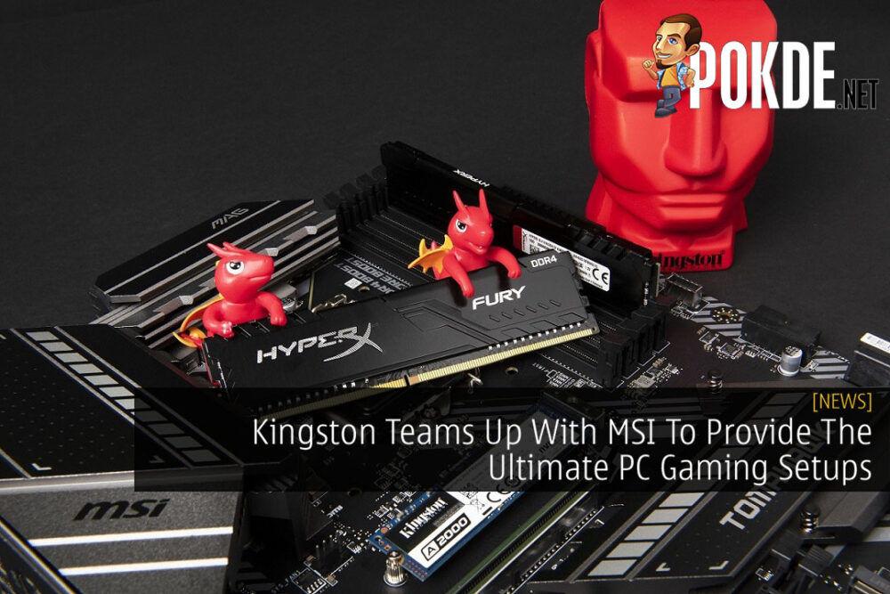 Kingston x MSI cover