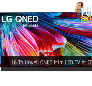 LG To Unveil QNED Mini LED TV At CES 2021 29
