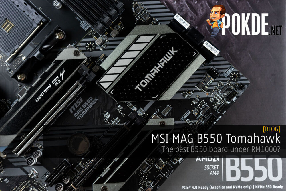 MSI MAG B550 Tomahawk overview cover