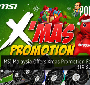 MSI Malaysia Offers Xmas Promotion For Their RTX 30 Series 27