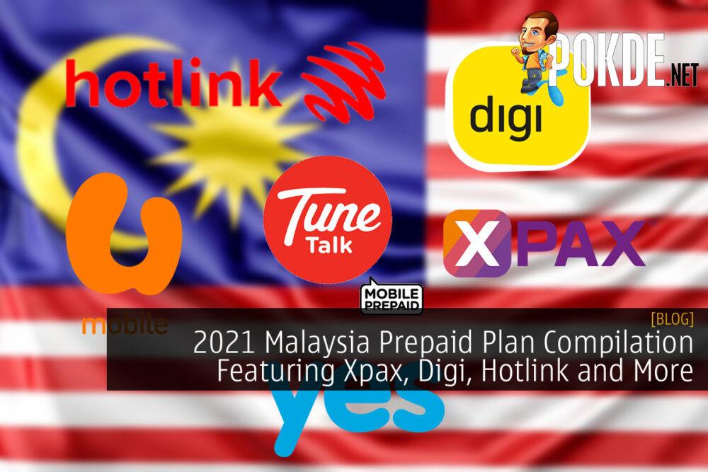 Malaysia Prepaid Plan Cover Xpax DIgi Hotlink U Mobile Tune Talk Yes