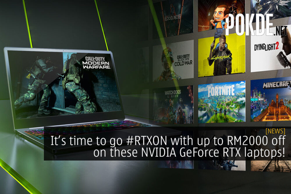 NVIDIA GeForce RTX 20 series laptop promo cover