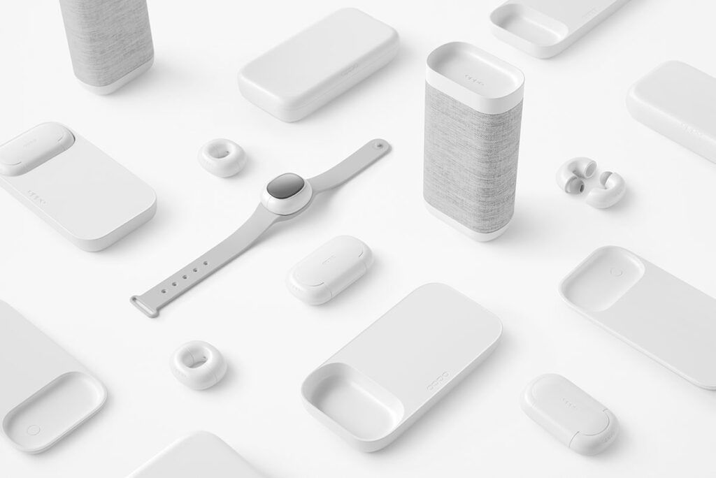OPPO music-link concept ecosystem