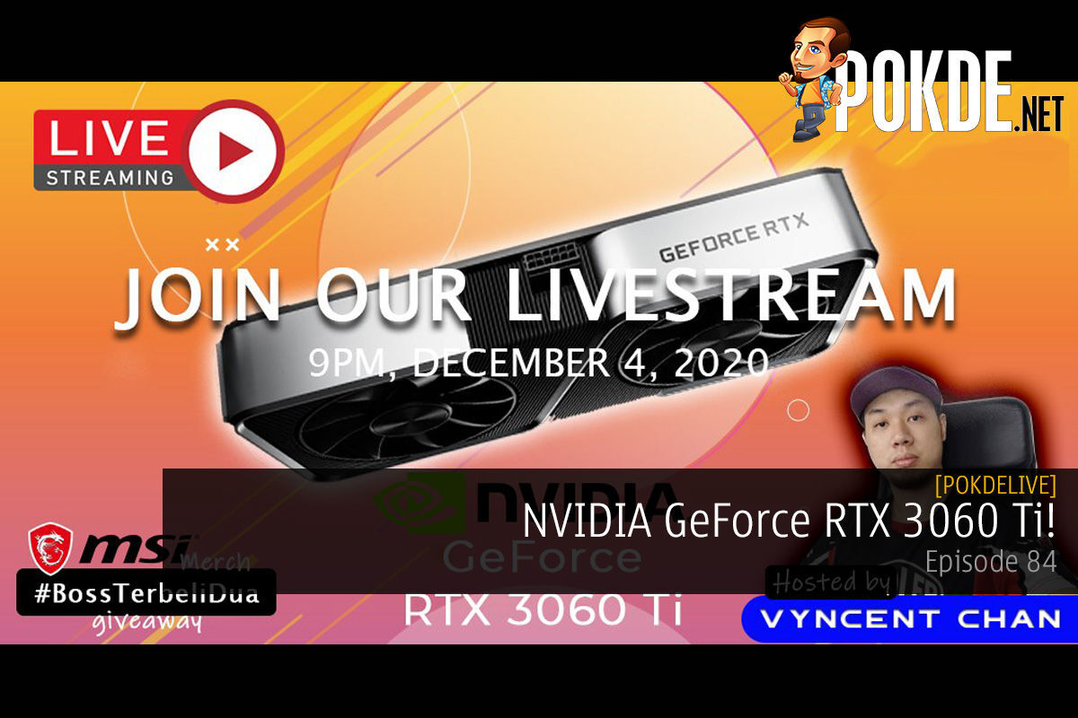PokdeLIVE 84 — NVIDIA GeForce RTX 3060 Ti! 12