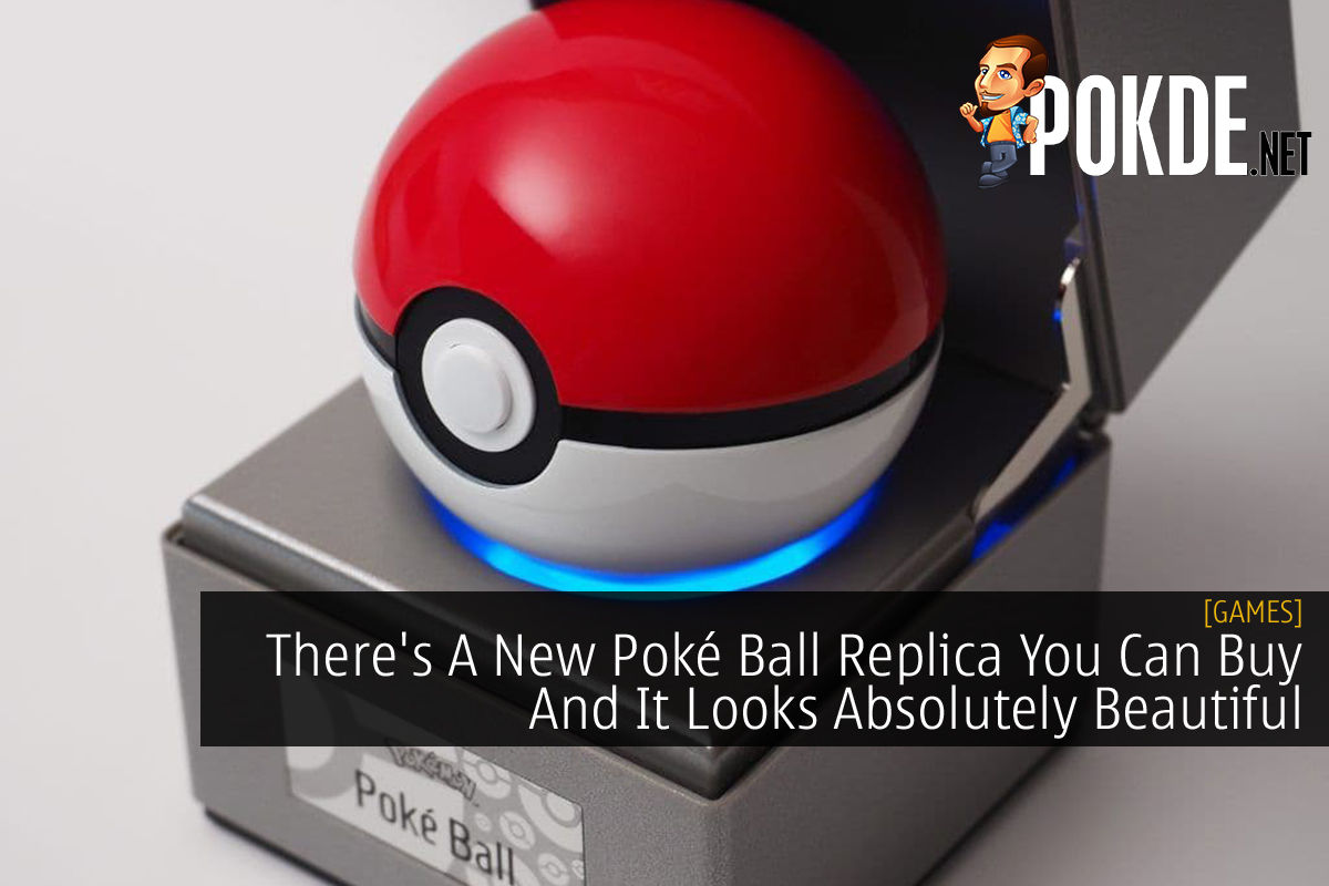 Poké Ball Replica cover