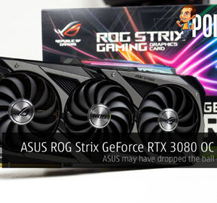 ROG Strix GeForce RTX 3080 OC Edition review cover