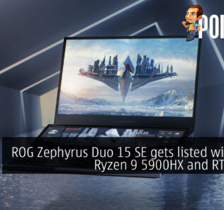 ROG Zephyrus Duo 15 SE gets listed with AMD Ryzen 9 5900HX and RTX 3080 19
